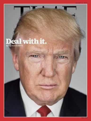 Donald Trump hits 40% nationally