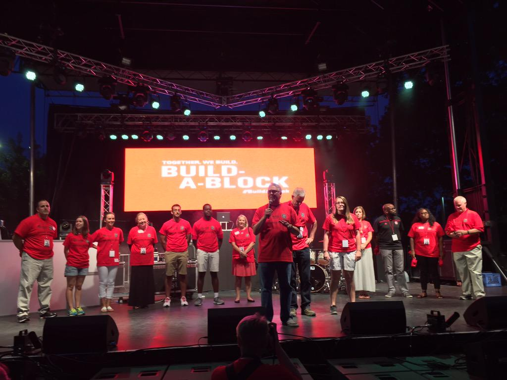 """We couldn't be more proud of our students' commitment to @Habitat_org."" - Chancellor Woodson #Packapalooza http://t.co/K7qgjCEa5i"