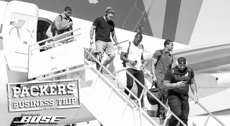 Take a behind-the-scenes look at today's #PackersBusinessTrip to Pittsburgh: http://t.co/7b7VFR0AeK #GBvsPIT http://t.co/ZTOxg7OGI0
