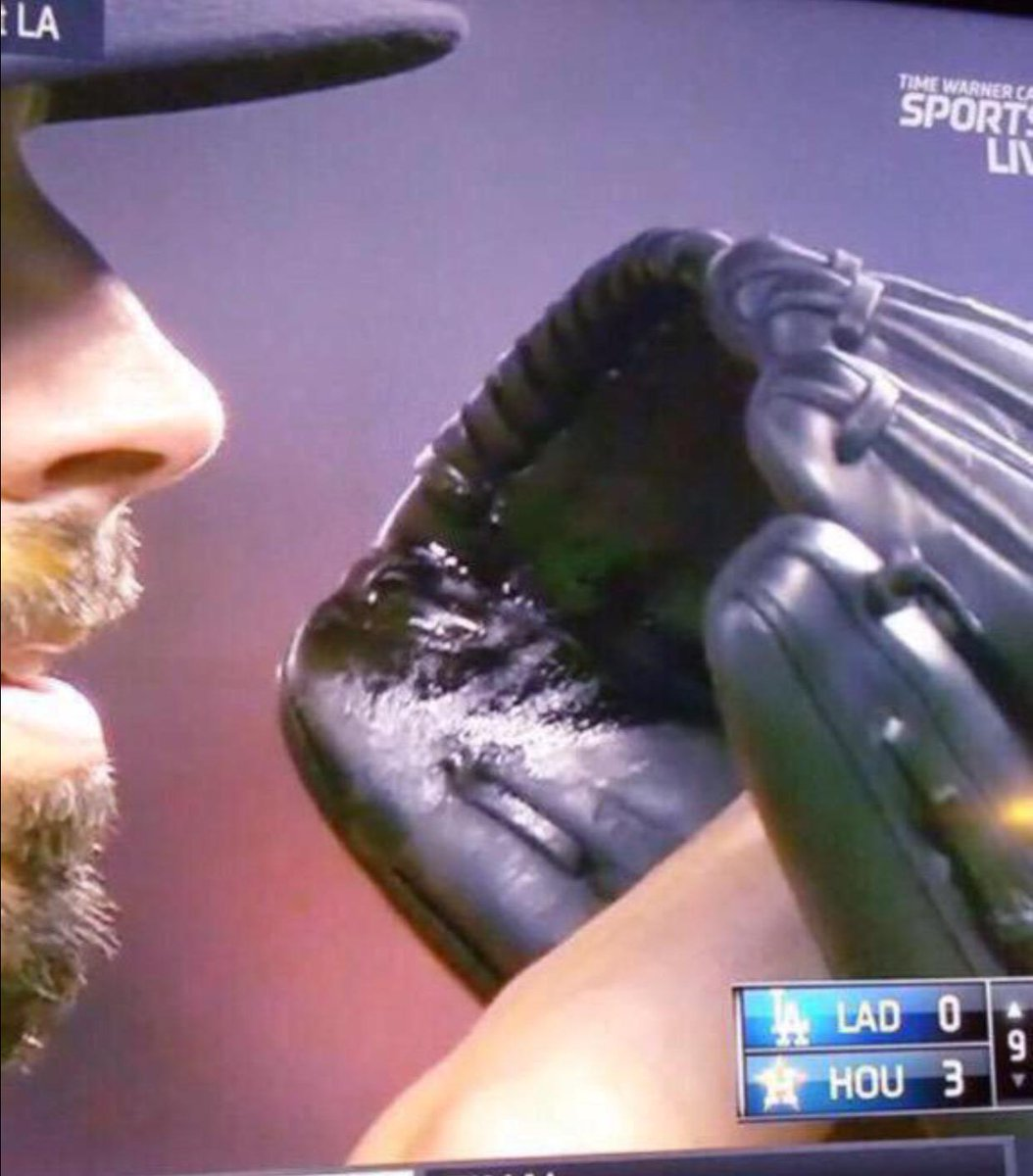 "Mike Fiers On Glove During No Hitter: ""it Could Be A"