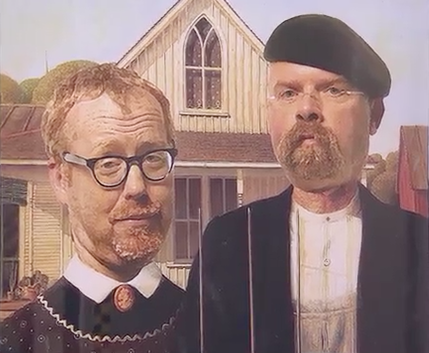 Cara Lichtenstein On Twitter MythBusters Are There Prints Of The American Gothic Up For Sale Anywhere