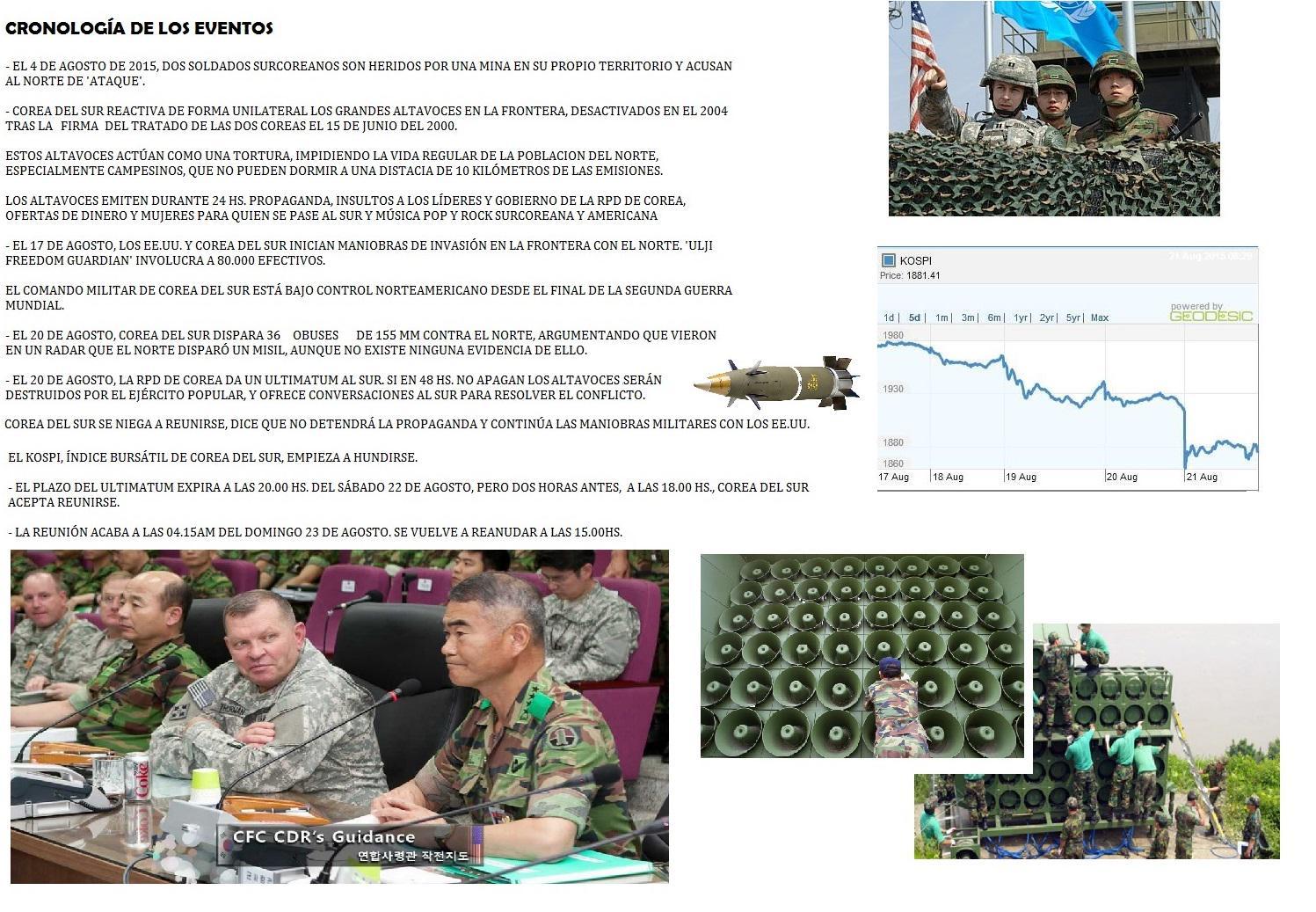 corea del norte amenaza con respuesta militar en 24 horas a surcorea CNE8gx2WIAAD5TJ