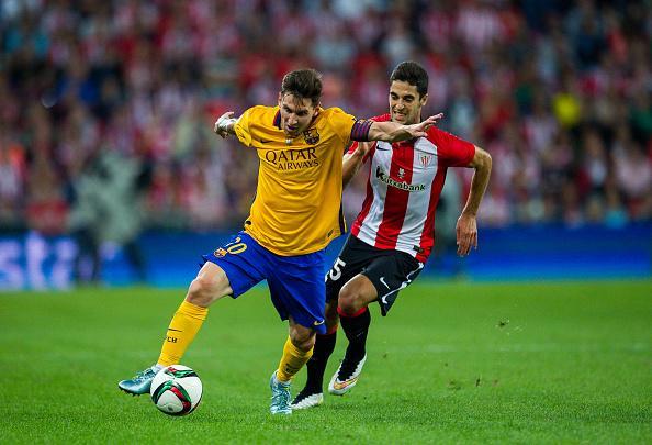 LIVE Athletic Bilbao v Barcelona