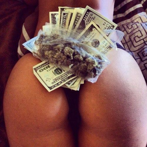 Money weed girls