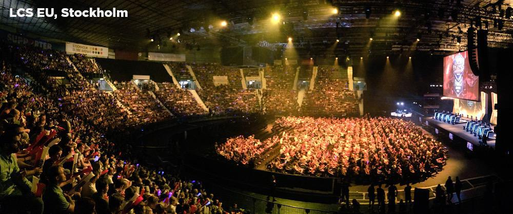 Yesterday was a great day for Esports, filling arenas all over the world! Cologne, New York, Stockholm & Busan. http://t.co/ZQQGKkiE1R