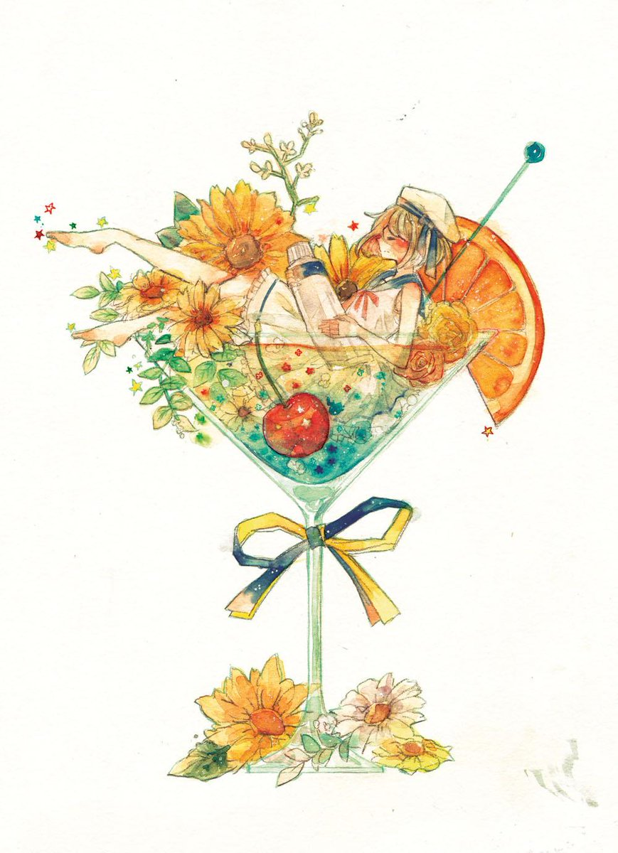 水彩でよく描いてます #今夏最後の創作クラスタフォロー祭 http://t.co/0WMTzWRgy5