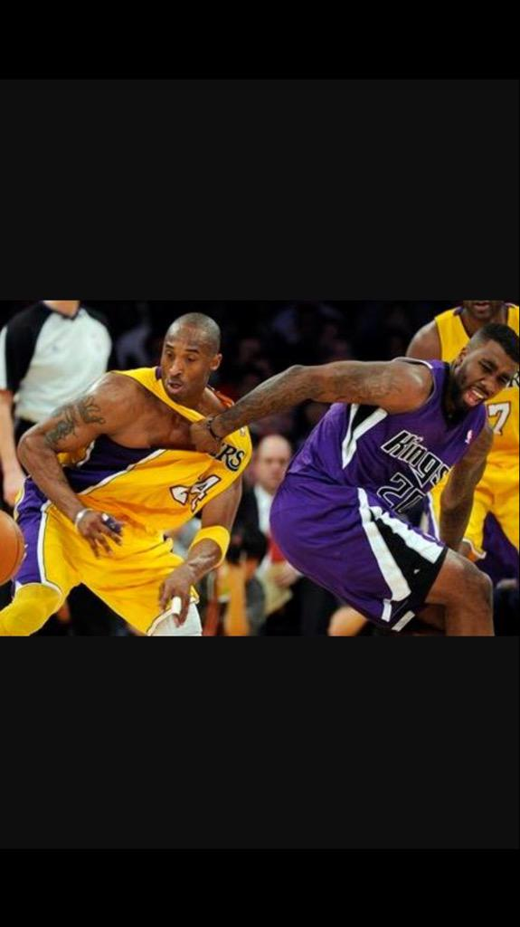 Happy bday @kobebryant #BlackMamba Sometimes you just gotta foul him