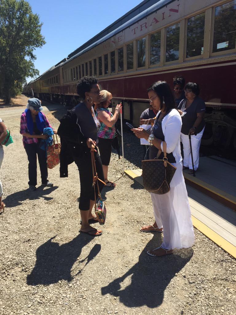 Thumbnail for @winetrain removes women for #LaughingWhileBlack