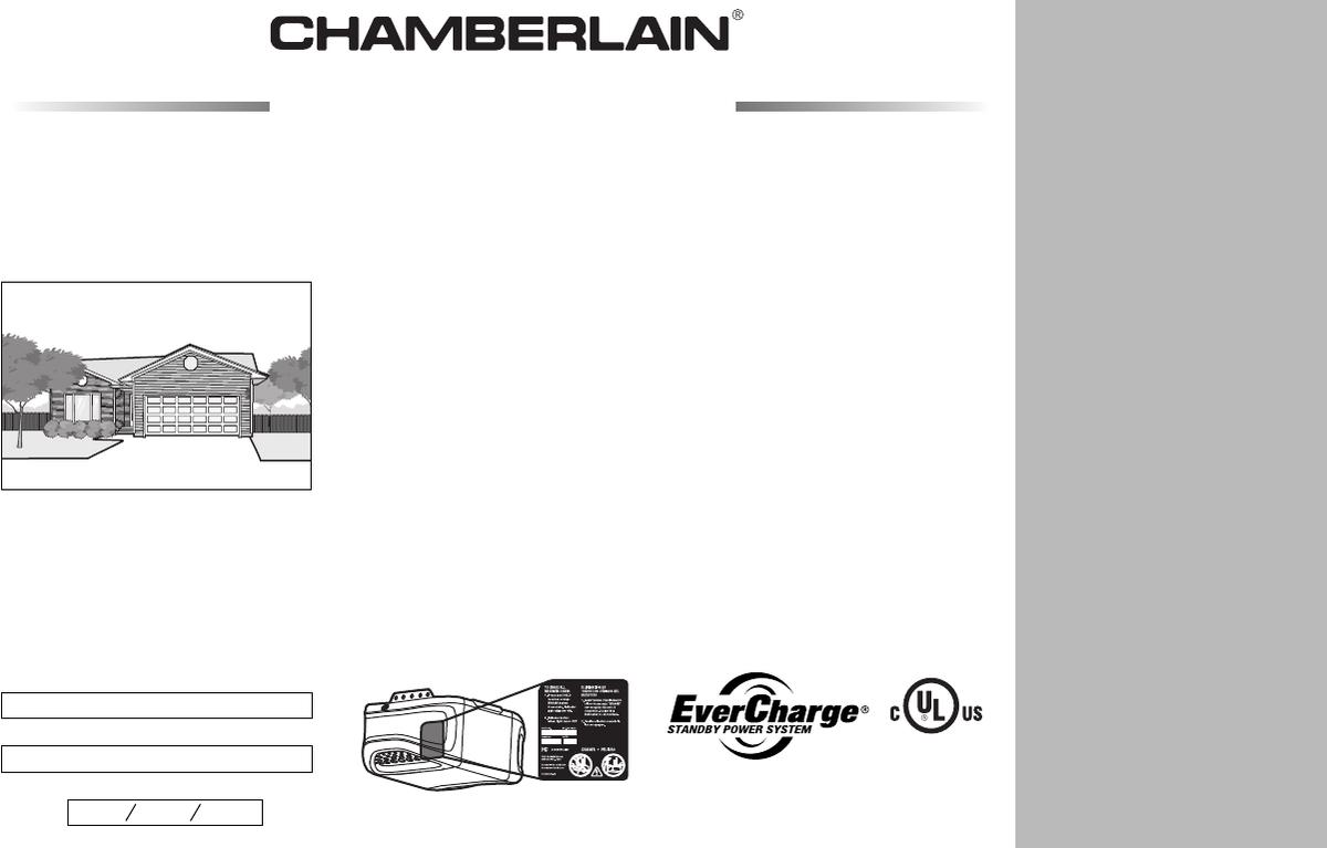 Chamberlain Garage Door Opener Manual Hd900d Dandk Organizer