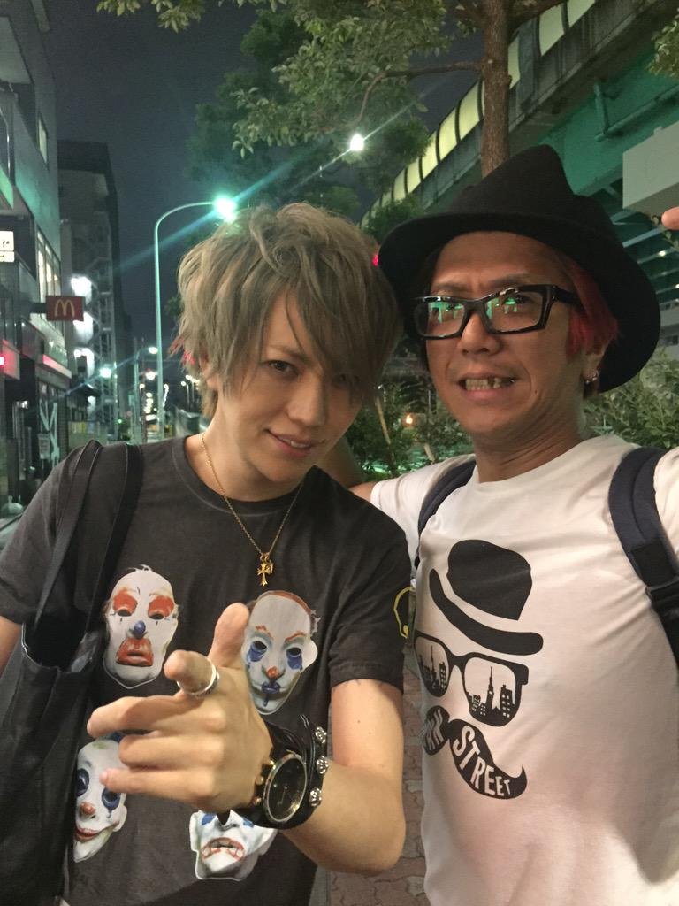 Alice Nineの活動再開ライブからの吉俣さんを囲む会!ライブ行けなかったけど、Showくんが今日も男前過ぎた!吉俣さんにも久々に会えて嬉しかった!! http://t.co/szpuNcKSHE