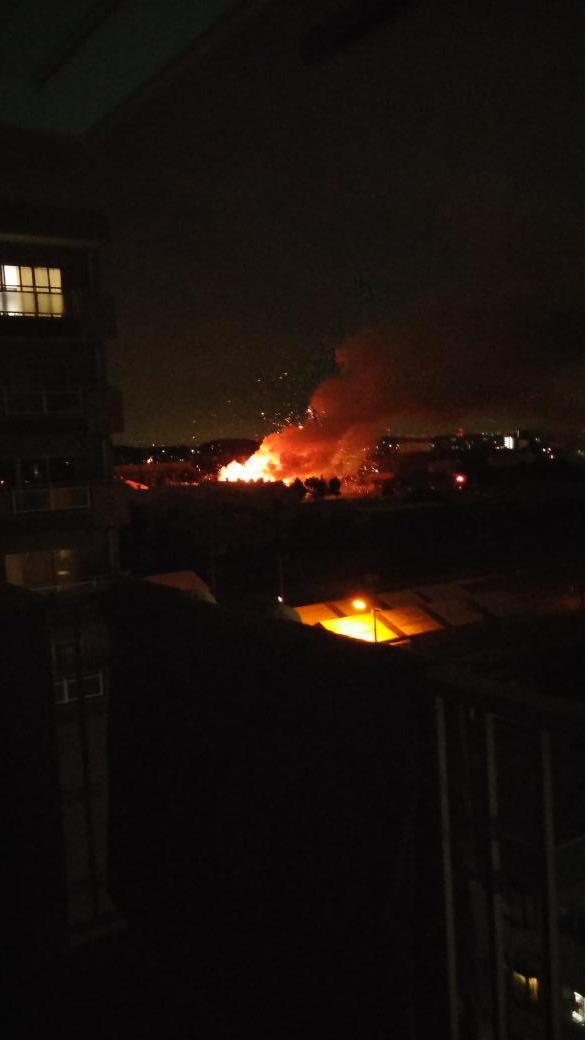 べ、米軍基地で爆発が!! http://t.co/7oyils5M4R