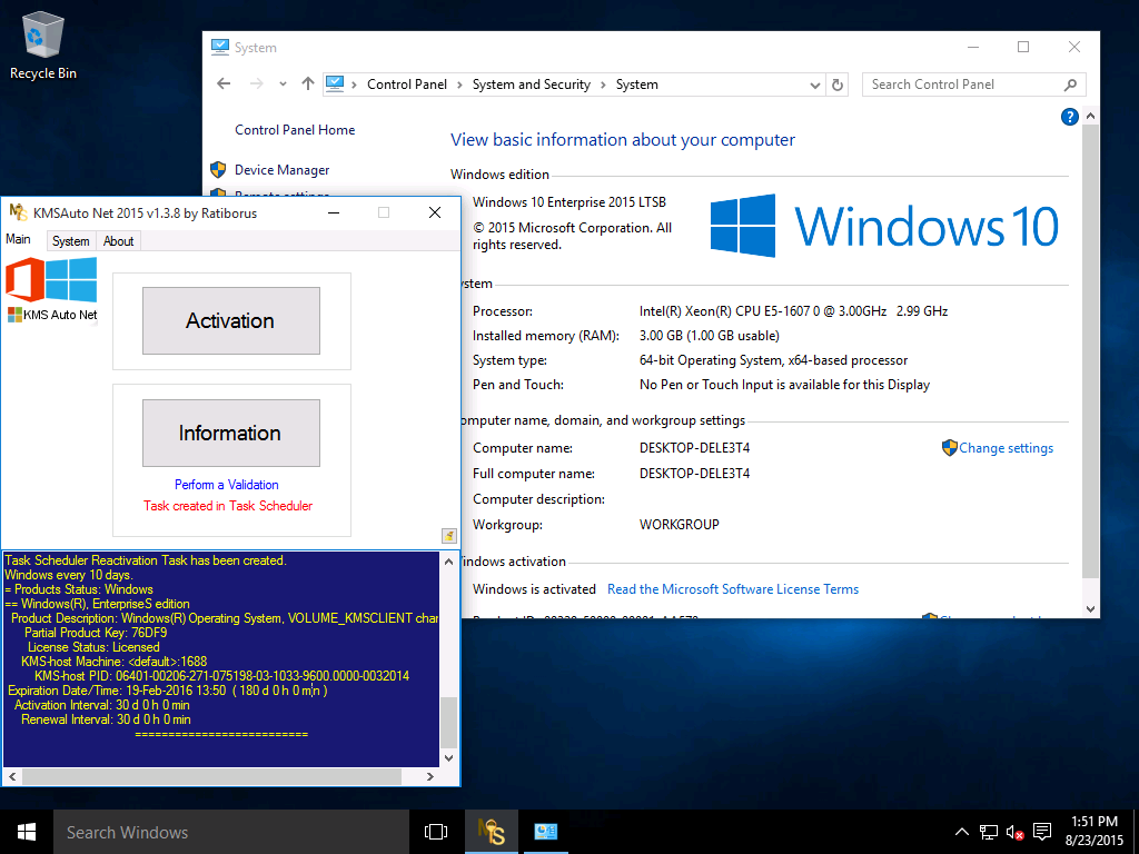 kms auto activator for windows 10