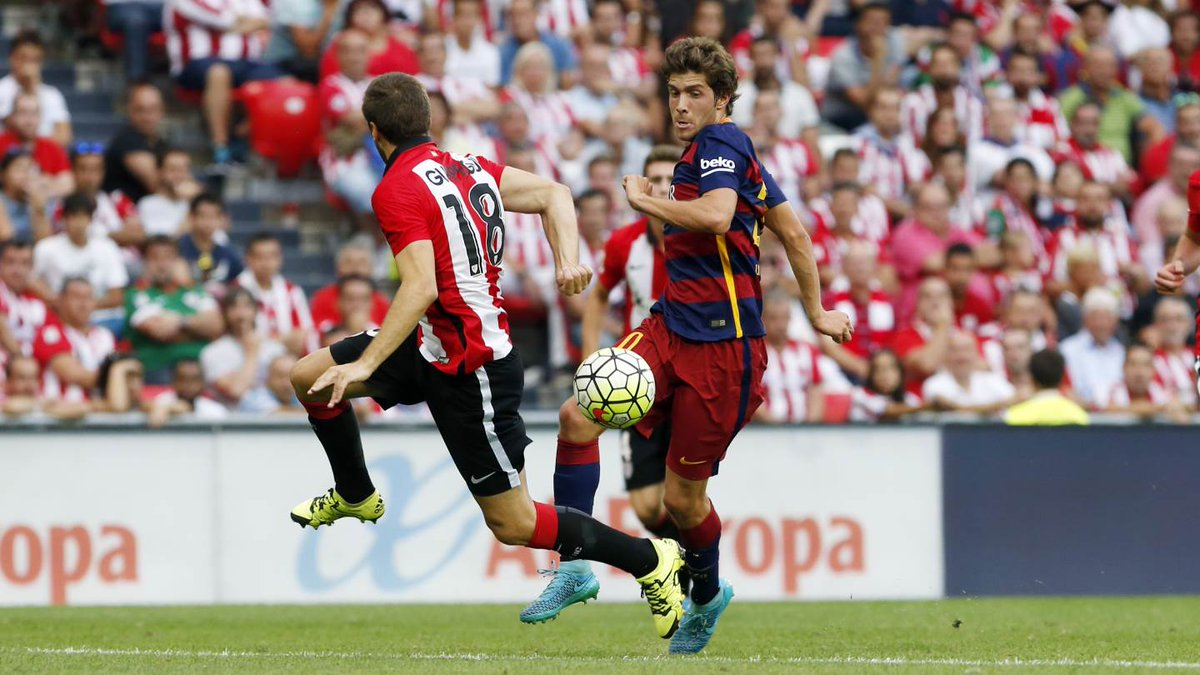 Sergi Roberto Against Athletic Bilbao