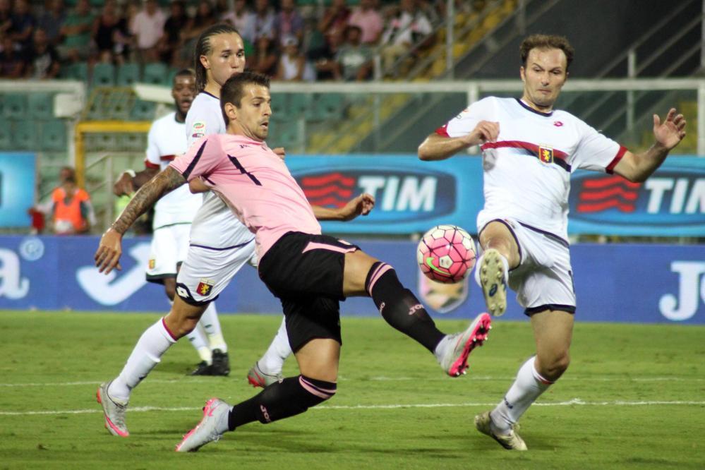 Trajkovski during his debut; photo: mediaset.it