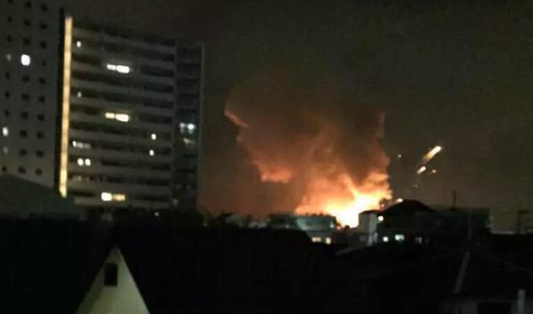 #japan : Multiple explosions at US military facility #Kanagawa in Sagamihara City http://t.co/xlrlOh5i6T http://t.co/pxNlV2dnov