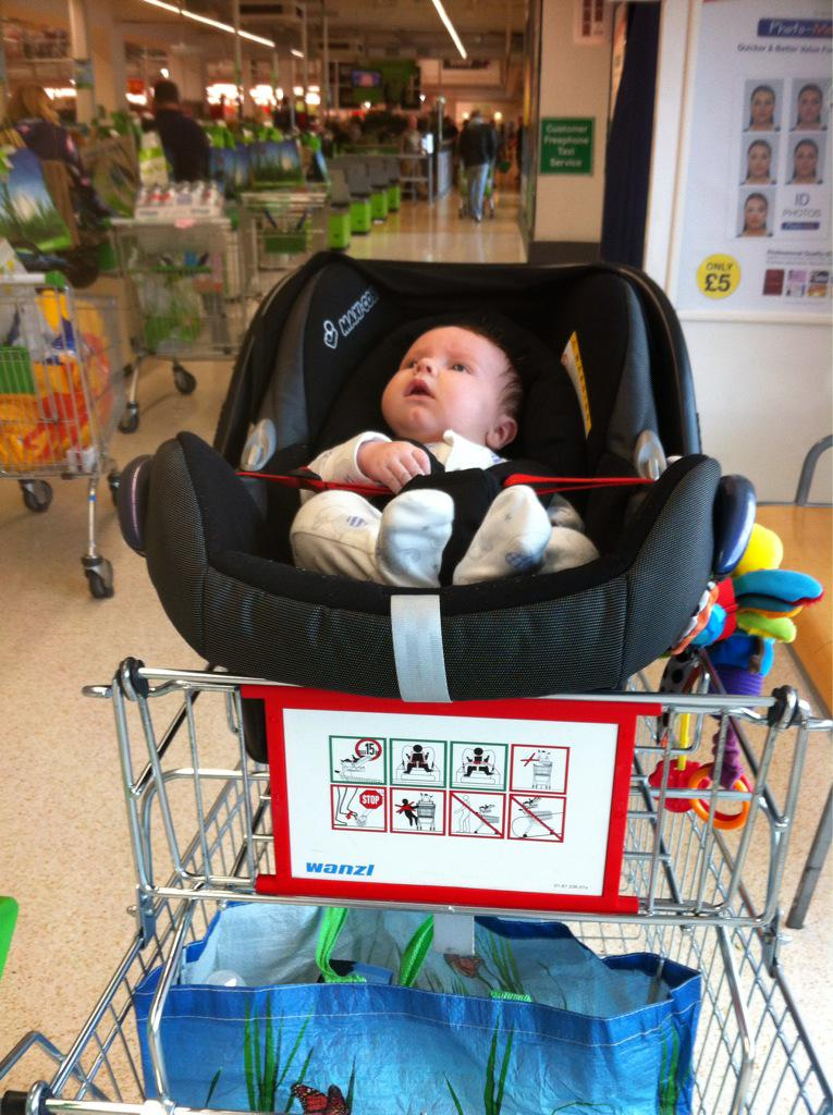 Mrs Slade On Twitter Thank You Asda For Lowering The Baby Car Seat Trolleys I Can See Where Im Going Take Note Tesco Sainsburys