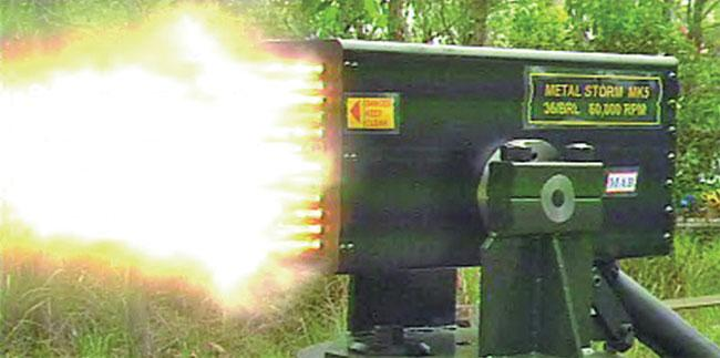 This deadly gun has the potential for 1 Million rounds per minute!  http://t.co/Zyx6kmD8EG http://t.co/IH5NbaTEa6