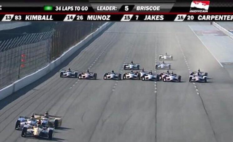 These guys most have a set of big ba..s Haha! Jesus this is nuts!! #respect #IndyCar http://t.co/tvM6EAZI8d