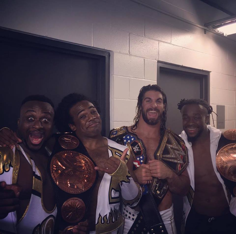 Life is good when you are Champion!! #WWE #SummerSlam http://t.co/4k5tzxP3cJ
