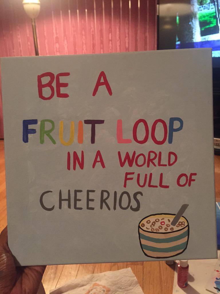 Fruit Loops In Asshole
