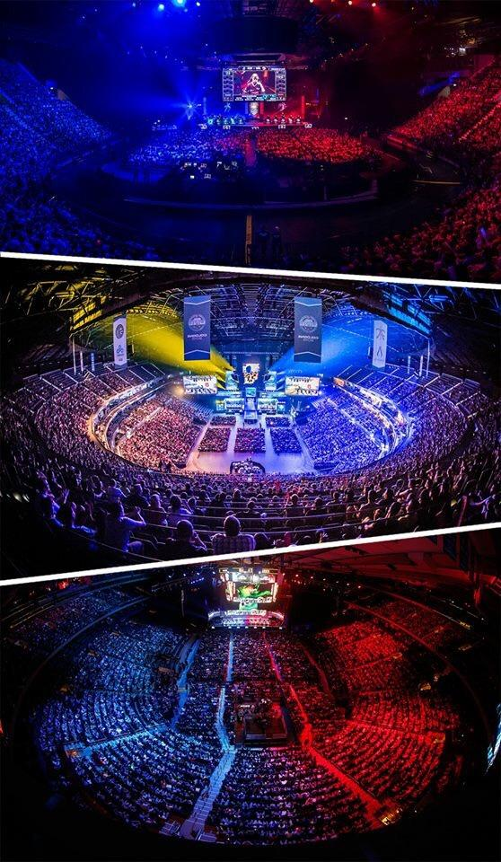 One weekend with 3 major esports events. Don't tell me that we can't fill stadiums ;) http://t.co/GbJWUj6GPE