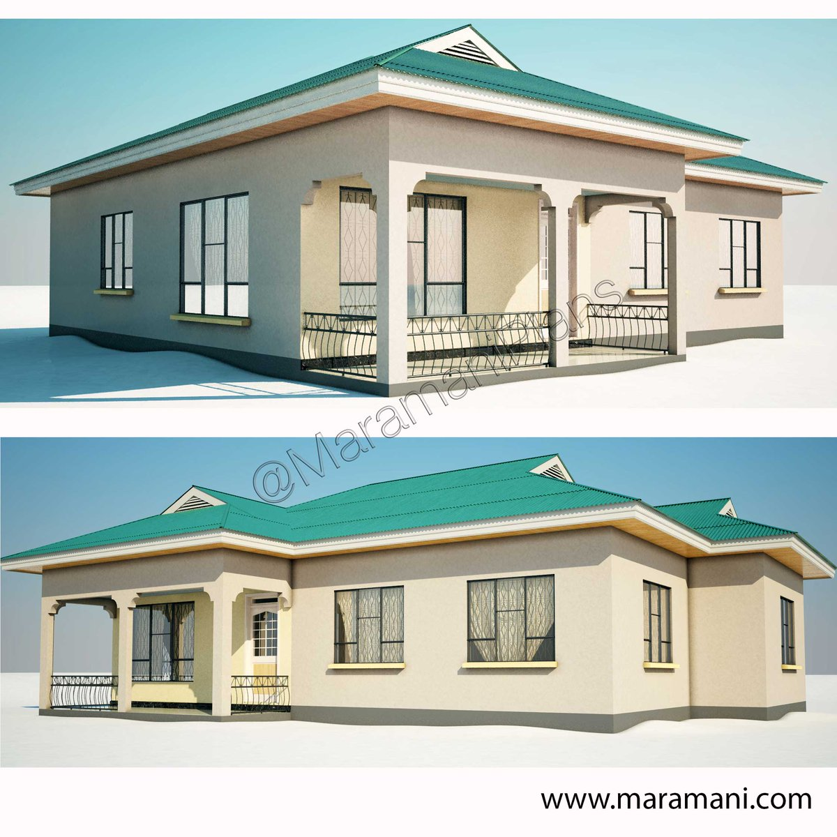 Maramani house and floor plans modern house for Home building design