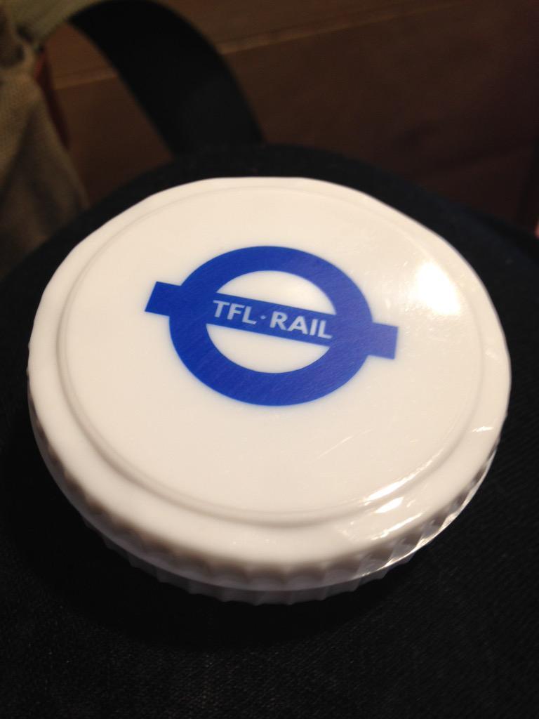 CNKsCRLWUAAY31N - Bearing the gifts of TfL Rail...