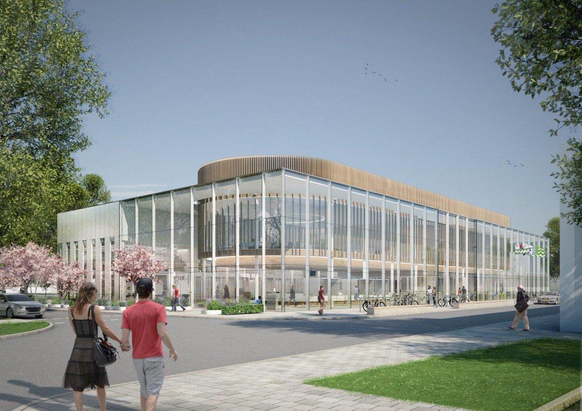 Nieuw gemeentehuis ademt duurzaamheid en transparantie uit http://t.co/ocGbg1Fk4B