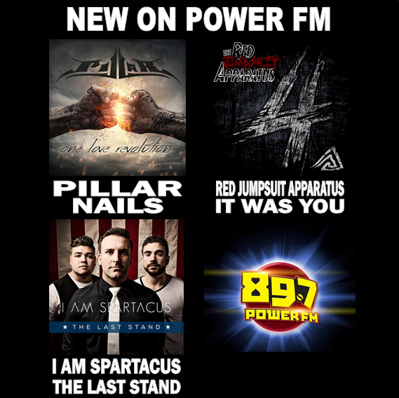 New tunes from @Pillarmusic, @redjumpsuit, and @iAMspartacusUSA this week! http://t.co/2XSpHMPgVC