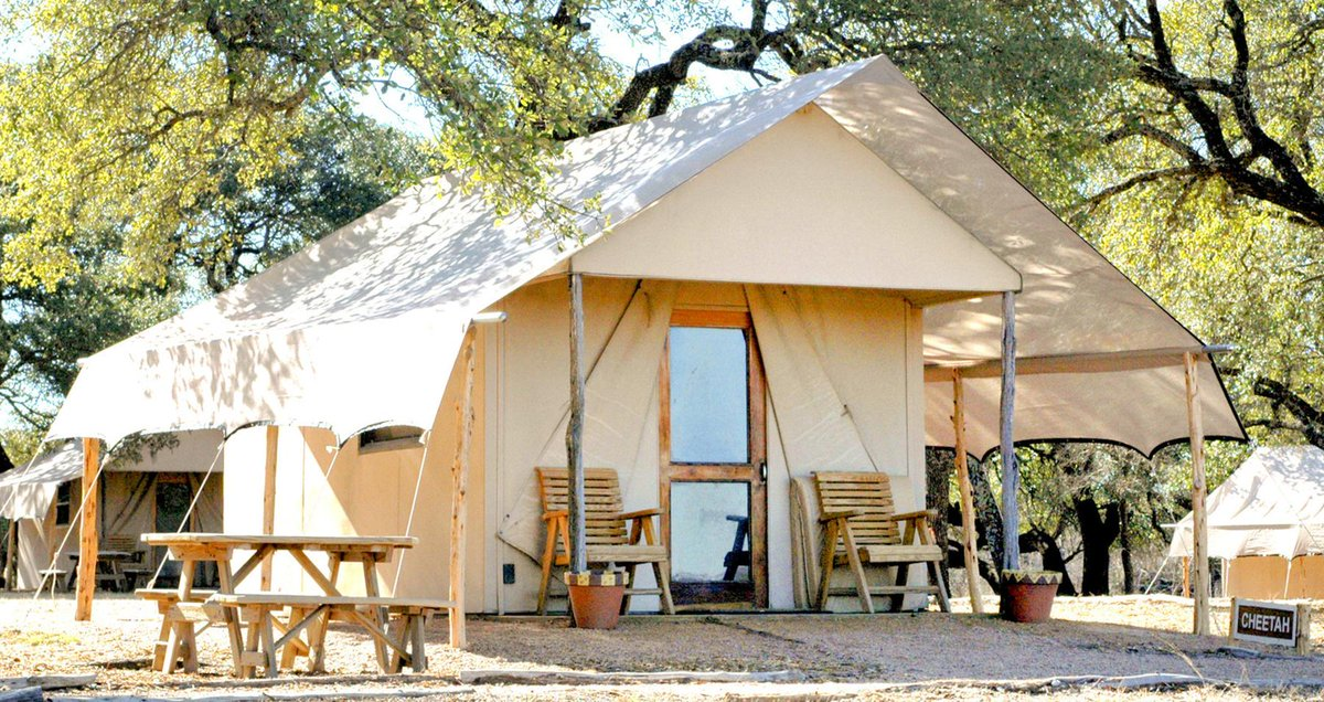 Fossil Rim on Twitter  Our Foothills Safari Tent Cabins offer 2 twin beds private bath fans u0026 central heat/air. 254.897.2960. & Fossil Rim on Twitter: