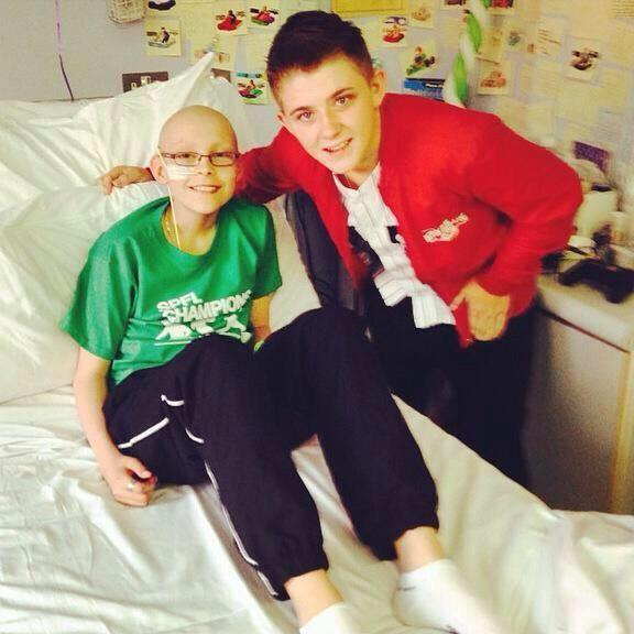 Can't believe it's been a year already since Lee lost his battle against Leukaemia #LiveItForLee http://t.co/amP7TgwUjQ
