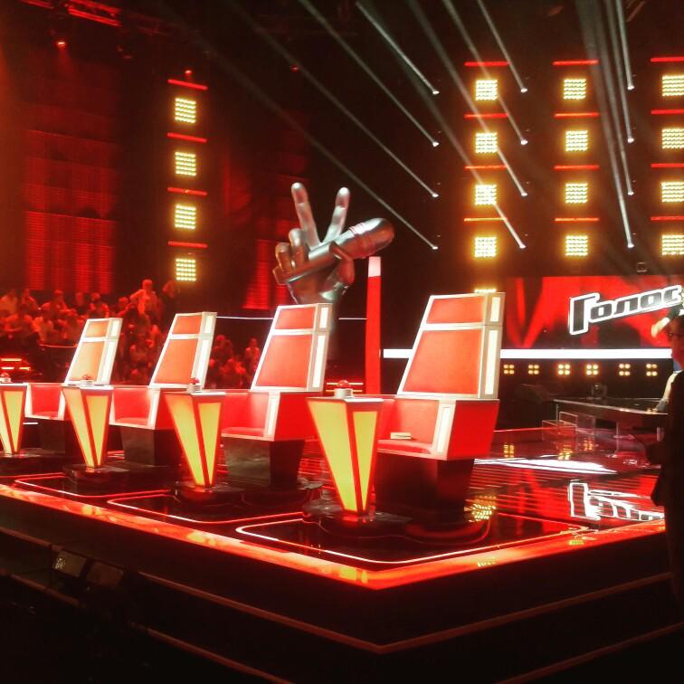 шоу «Голос» на Первом канале