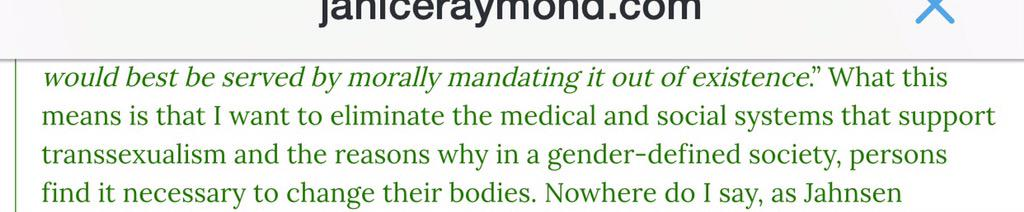 @jsandrews1 don't tell me this isn't your goal. No trans medicine, ergo no trans people. http://t.co/9ESqcocUTl