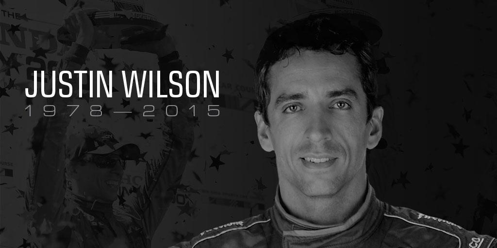 #INDYCAR driver Justin Wilson has passed away as a result of his injuries. #BadassWilson http://t.co/6EdUU9HUlO http://t.co/ysYkfc4WSu