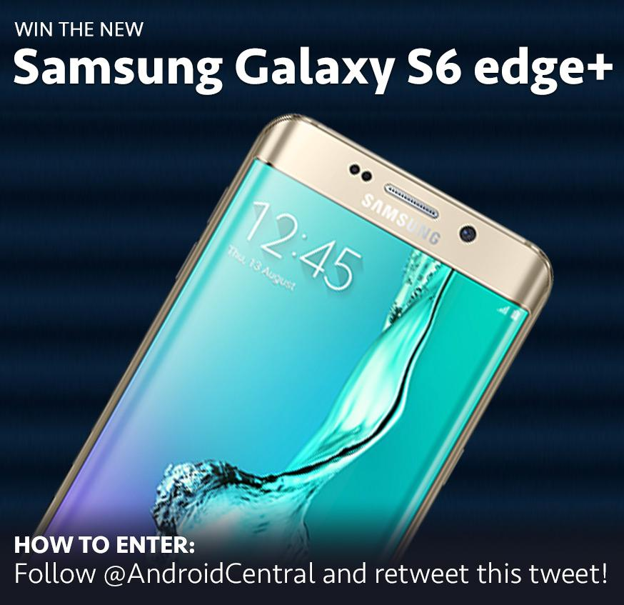 It's time to give away a new Samsung Galaxy S6 edge+! RT this to enter! Full rules at http://t.co/ypVu7NQYgu