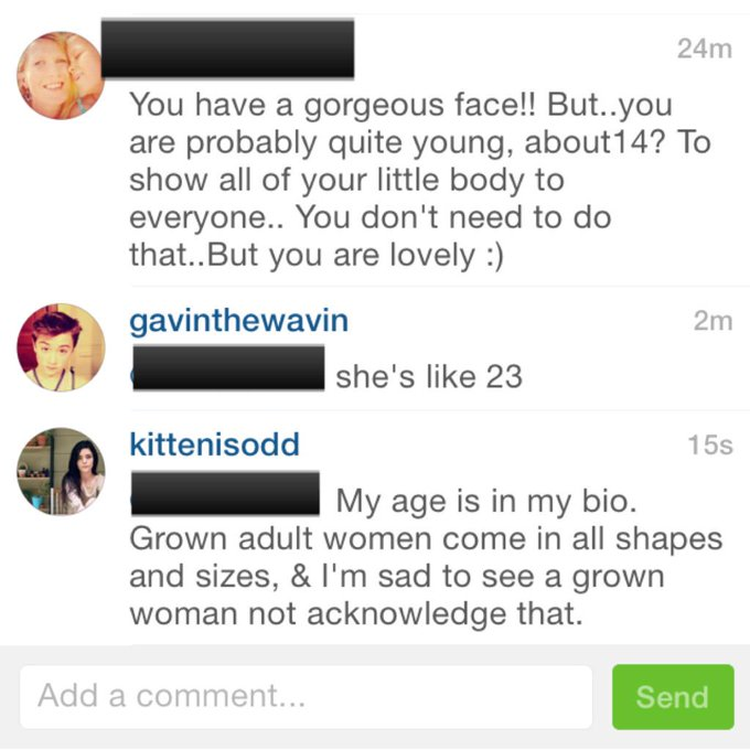 Seriously so disappointing to see adult women pretend like they haven't ever seen women w/ different