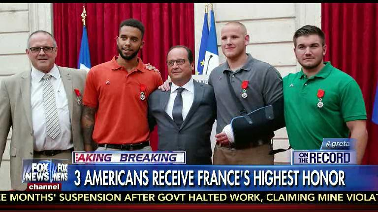How the French honor 3 American heroes vs Obama