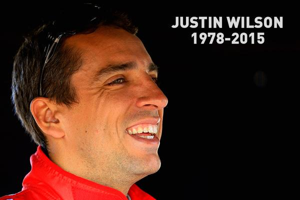 Our thoughts and prayers are with the friends and family of Justin Wilson. You will be missed. http://t.co/4r42uZt0Ex