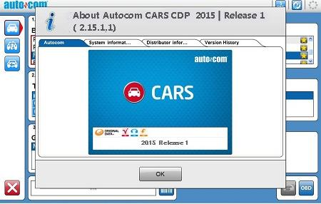 AUTOCOM 2015 Release 1 rev. 3 (Cars and Trucks) + Activation