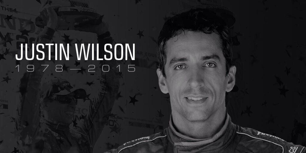 We are saddened to hear of Justin Wilson's passing, our hearts are heavy and our thoughts remain with his family http://t.co/b4qRH9cuC7