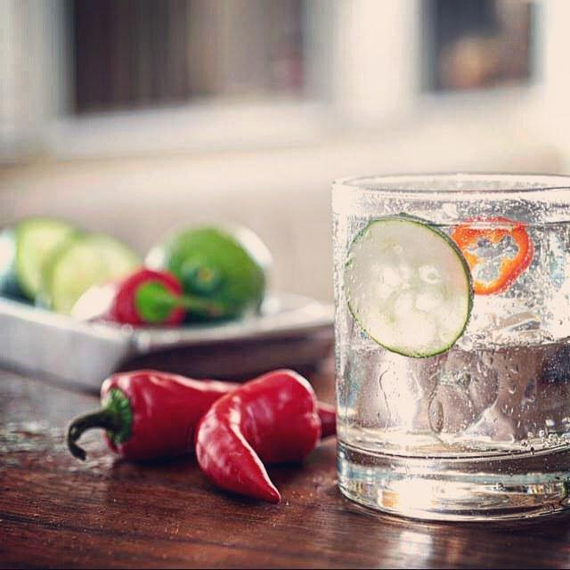 Usually I make a #margarita with #tequila but the new #cucumber #chili tequila from @sauza… http://t.co/e9yRExdYnl http://t.co/ccEnY6CWzY
