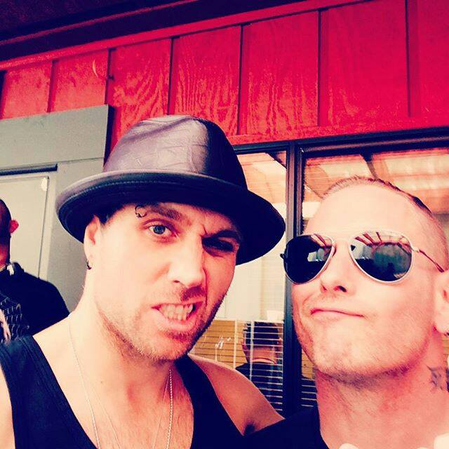 Three Days Grace Army On Twitter Matt Walst And Corey Taylor Of