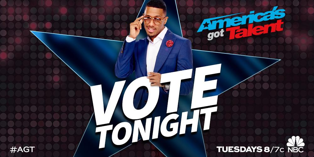 You can vote till 9am PST today! @DADitudeLA xoP RT @nbcagt: Voting is open until 12pm ET! http://t.co/w3IHAfNelf. http://t.co/VgjciDFFMh