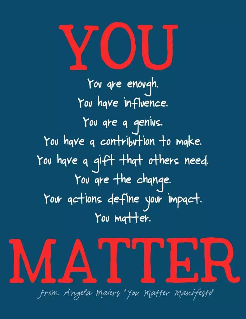 Our mission as educators and leaders is to convey a message of #hope to our Ss. @AngelaMaiers #YouMatter #believe http://t.co/cZBZQBnKjn