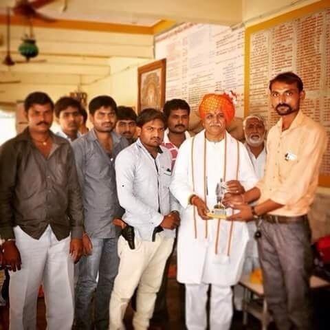Hardik Patel WITH PISTOL