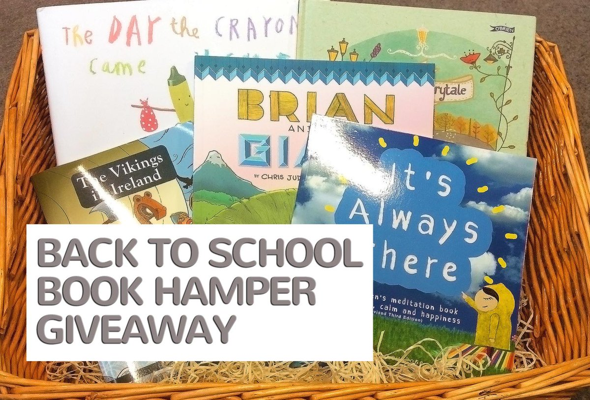 We're giving away a book Back To School Book Hamper with books includ A Dublin Fairytale & more! Follow & RT to #win http://t.co/iW9xAdv7VU