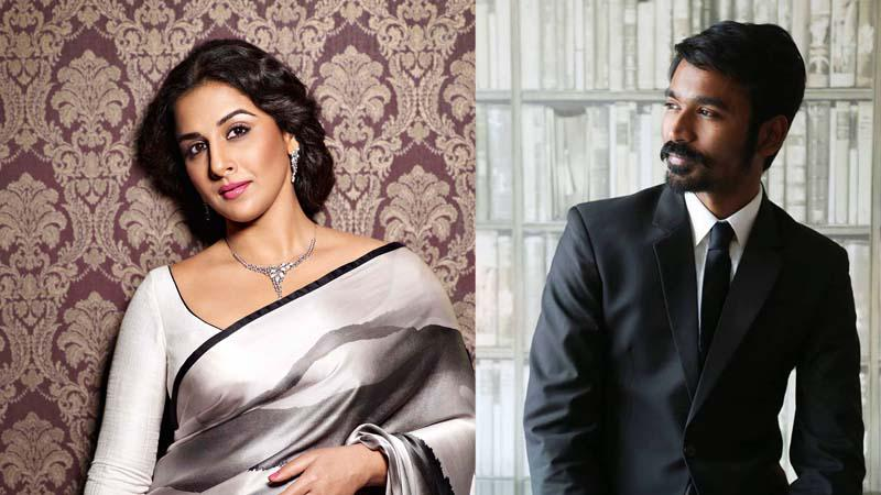 Dhanush to romance Vidya Balan