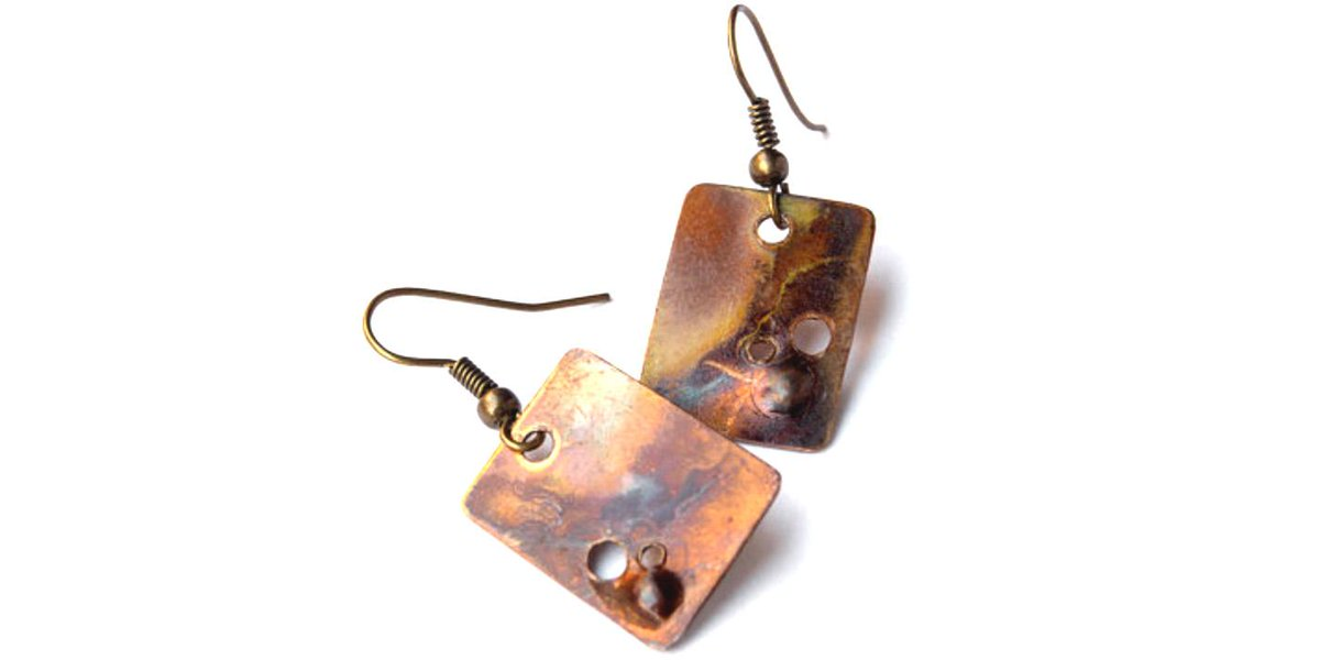 Flame painted w/ a torch. Autumn anyone? http://t.co/5GOGw3FPWi #tenxteam #handmade #jewelry @Etsy http://t.co/0z7U4PACap