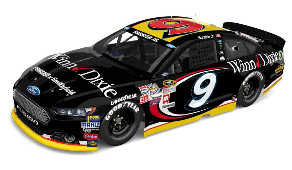 Check out my #throwback paint scheme for @TooToughToTame. Happy to have @WinnDixie winning ways on the #9 team! http://t.co/1qbzGxu0CE