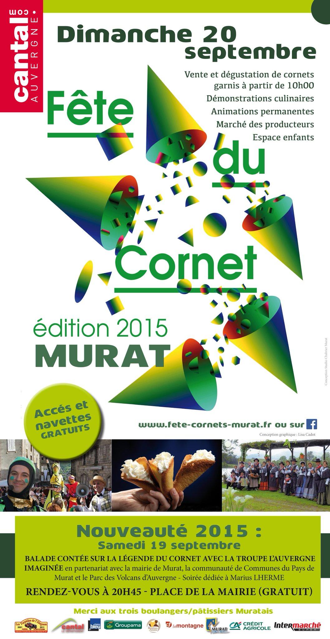 Fête du cornet de Murat 2015 CNR0LWuWoAASd3o